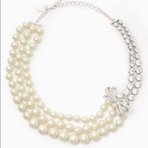 KATE SPADE PEARLY GLOW NECKLACE